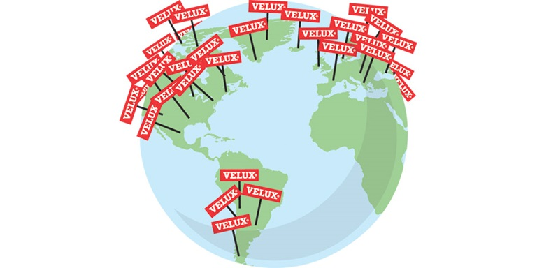 VELUX Group locations