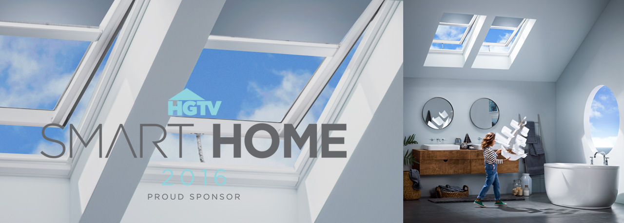 HGTV Smart home bathroom skylights kid with toy boat