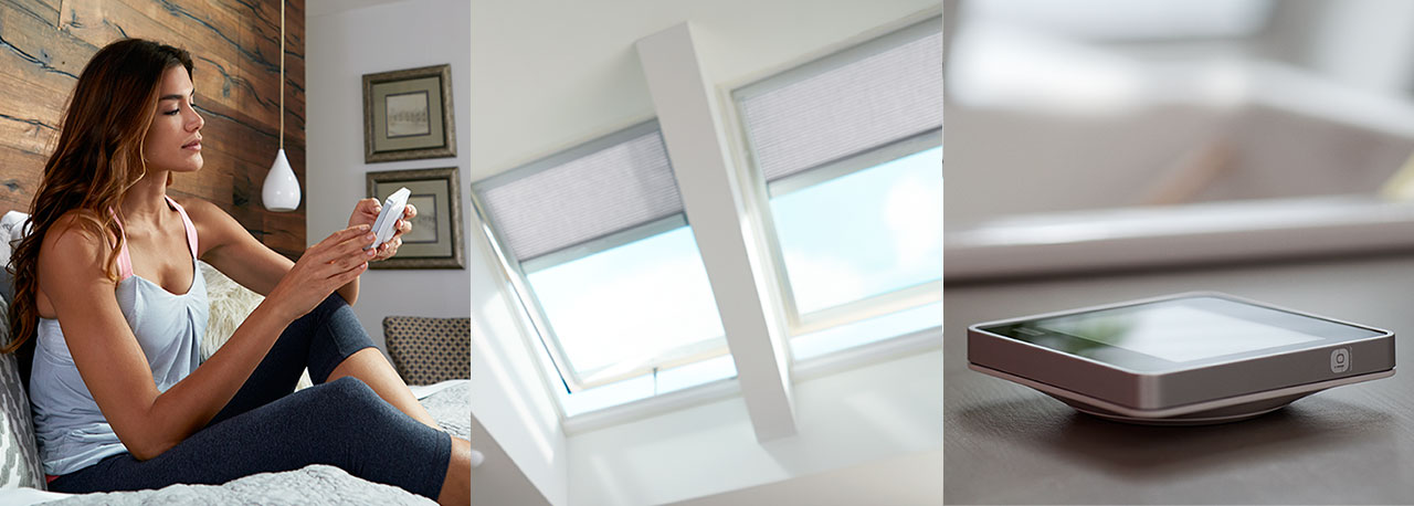 Velux skylights see our selection of skylight windows for Skylight with remote control