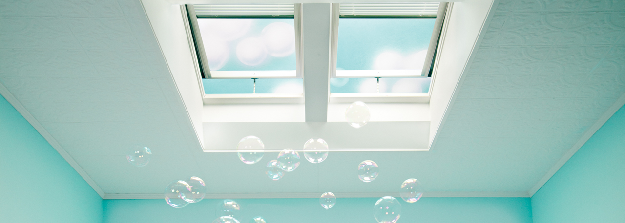 drama heights bathroom fresh air skylights