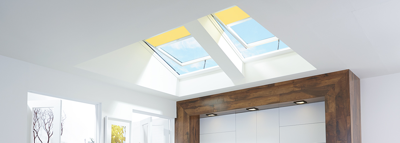 Velux Solar Powered Quot Fresh Air Quot Skylight Curb Or Deck