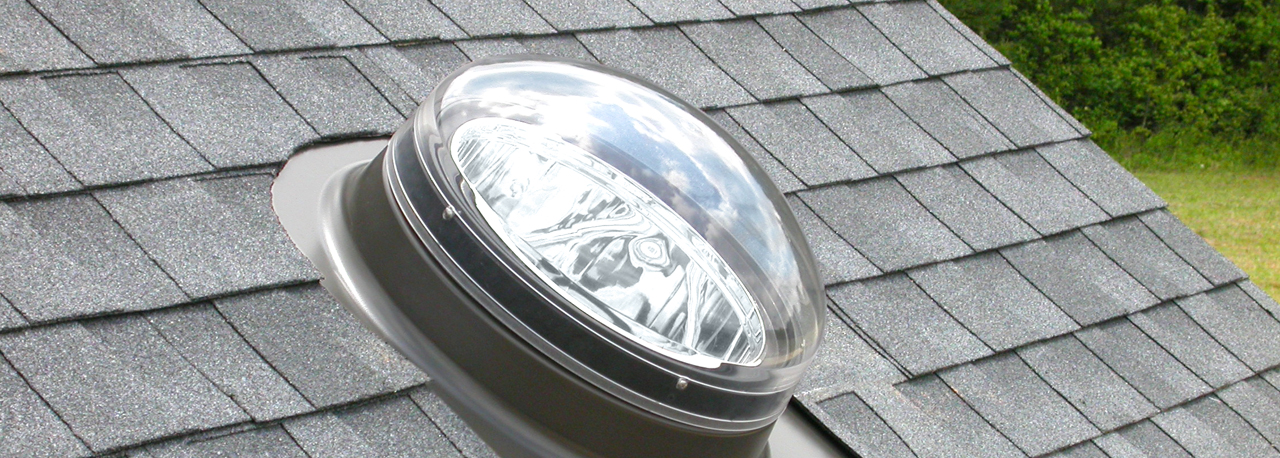 Velux sun tunnel skylights flexible and rigid for What is a sun tunnel