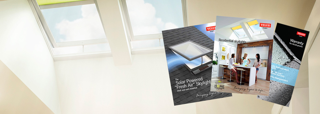Download velux product literature