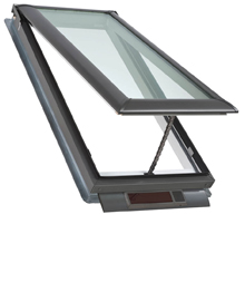 Velux skylights skylight windows solar electric for Velux solar blind battery