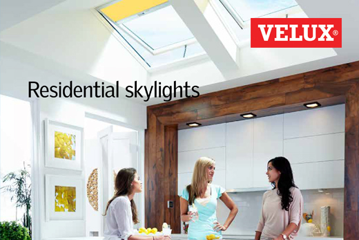 Residential skylights catalog cover