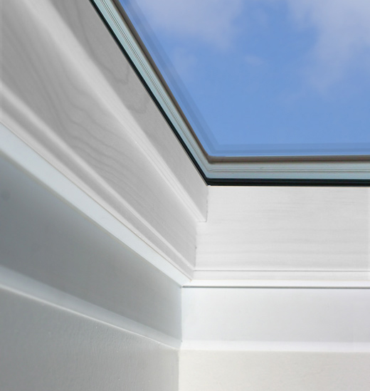 Velux skylight accessories remote controls blinds for Cleaning velux skylights