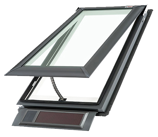 Velux Solar Powered Fresh Air Skylight Deck Mounted