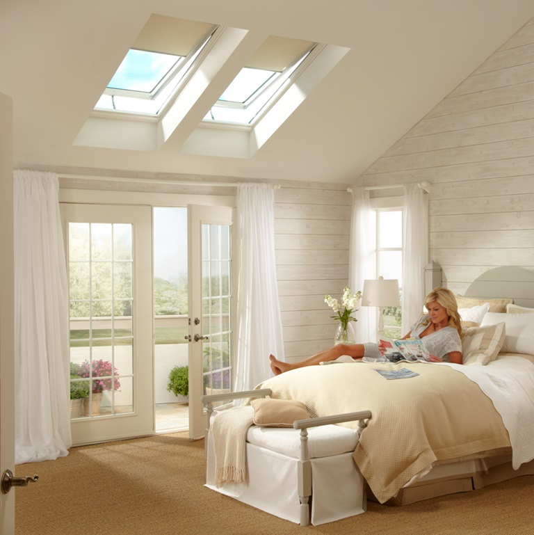 Skylight blinds bedroom 2