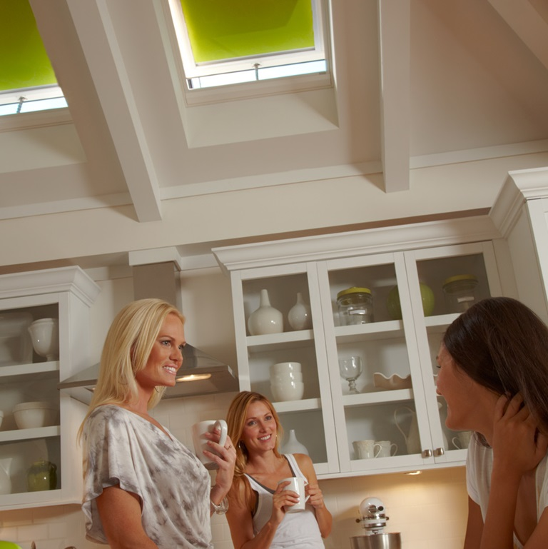 Skylight blinds kitchen 2