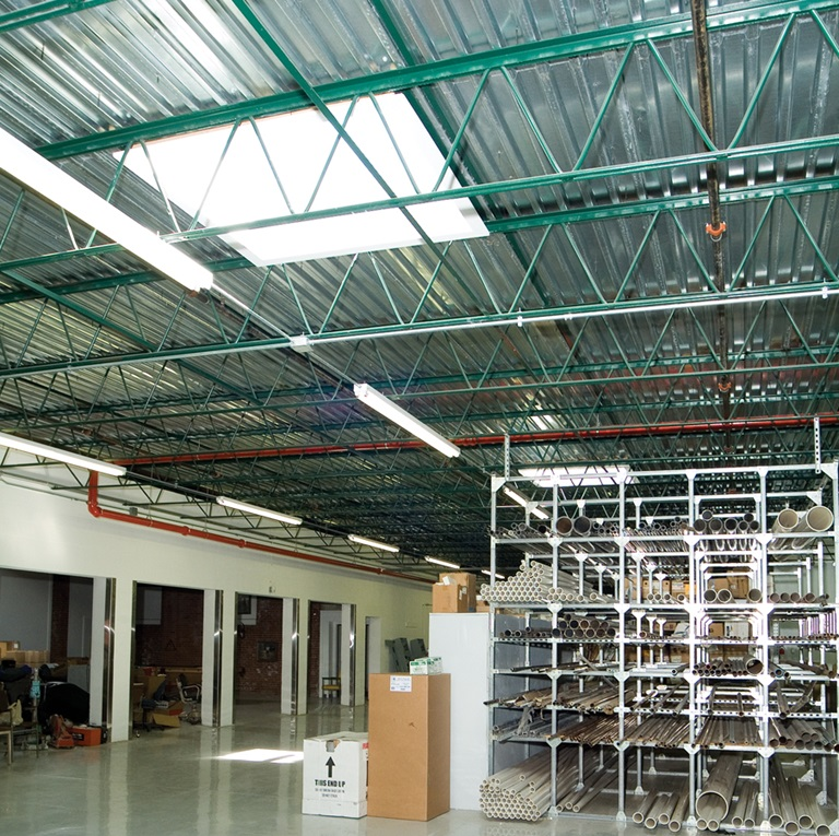 Commercial skylight warehouse