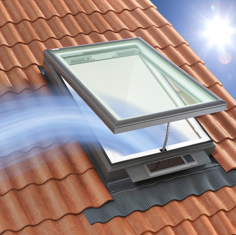Ventilation skylight
